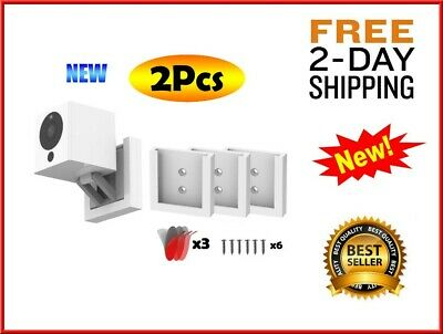 Wall Mount Wyze Cam V2 1080p HD Indoor Wireless Smart Home Camera 2 Pack