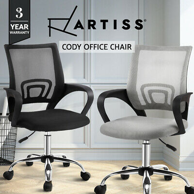 Artiss Office Chair Gaming Chair Computer Mesh Chairs Executive Black Grey