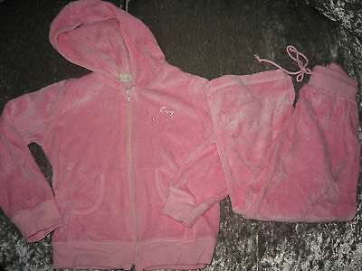 Victoria Collection Girls Hello Kitty Pink Tracksuit,Age 4.G.c