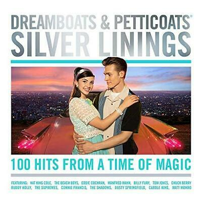 Dreamboats And Petticoats - Silver Linings - Various Artists (NEW 4CD)