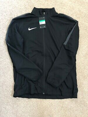 Nike Academy Dri-FIT Mens Woven Track Jacket Black/Anthracite