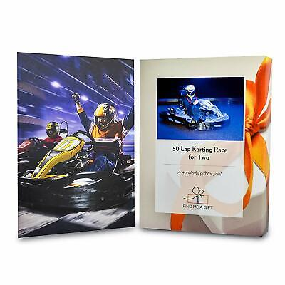 Activity Superstore 50 Lap Karting Session for Two Experience Day Gift Voucher