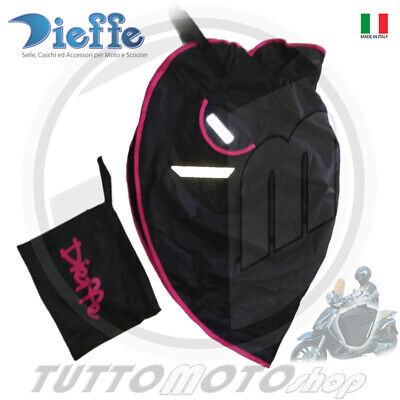 Coprigambe Scooter Maxi-Scooter Impermeabile Imbottito Rosa Fluo Dieffe