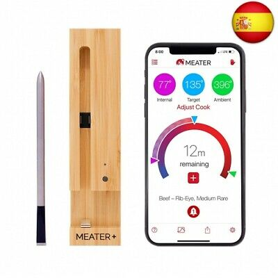 +   New Plus 50m Long Range Smart Wireless Meat Thermometer for