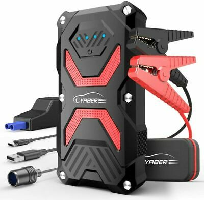 YABER Booster Batterie, 1000A 13800mAh Batterie Voiture Moto...