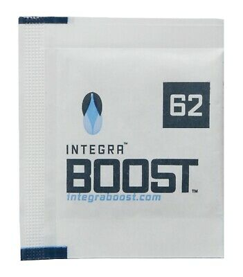 Integra Boost Humidiccant, 4g, 62% RH, 25 pack