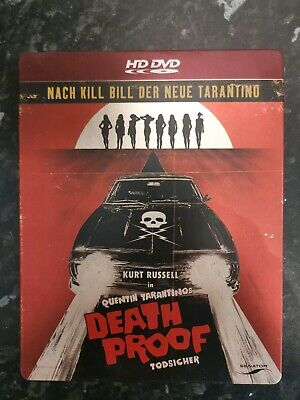 Death Proof - Todsicher [HD DVD] by Quentin Tarantino | DVD | condition new