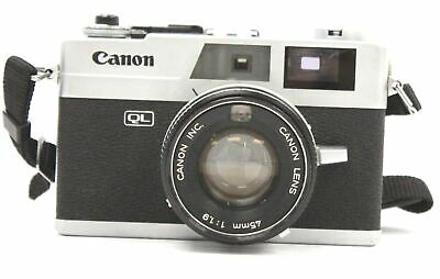 CANON CANONET QL19 35mm Camera With Canon 45mm f/1.9 Lens  - W14
