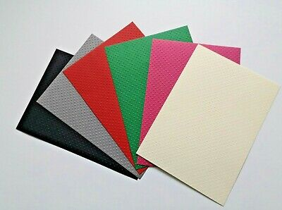 A4 Coloured Swiss Dots Embossed Craft Card  300gsm