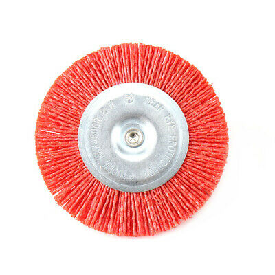 "100mm 4"" Abrasive Wire Brush Grinding Wheel Metal Rust Remover Deburring Tool"