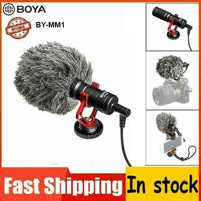 BOYA BY-MM1 Cardioid Shotgun Microphone MIC for Camera Smartphone Camcorder