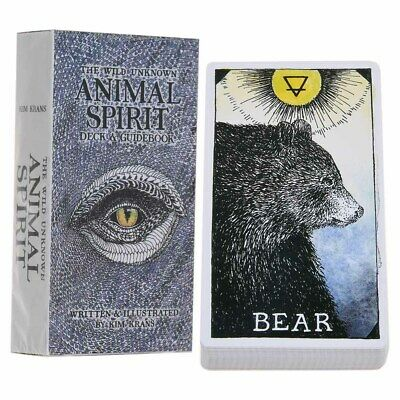 The Wild Unknown Arrival Animal Soul Spirit Deck 63 Tarot Cards Board Game