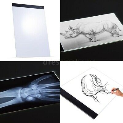 A3 A4 A5 LED Light Pad Slim Copyboard Tracing Drawing Board Graphic Tablet