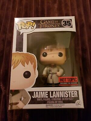 Funko Pop - Game of Thrones - Jaime Lannister  #35 hot topic