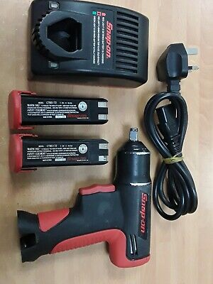 Snap-On CFU561 Cordless Impact Wrench w/ 2 batteries and charger