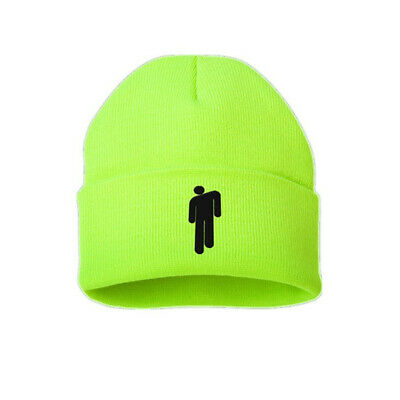 NEW Fashion Women Beanie stickman Billie Eilish Men knit cap hat Unisex UK