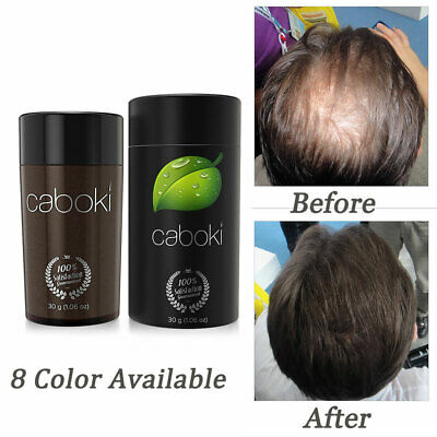 Caboki 30g Hair Fibers Keratin Hair Building/Thickening Fibers Powder 8 Color