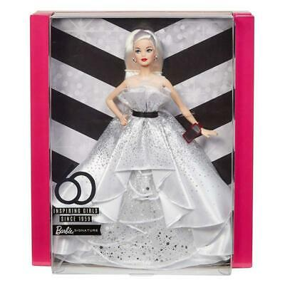 Barbie 60Th Anniversary Signature Collector Fxd88 Doll