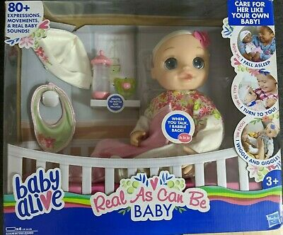 Baby Alive Real As Can Be Baby Doll (BOX DAMAGED)