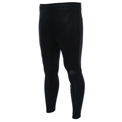 ADIDAS Sequencial MEN/'S CLIMALITE LONG TIGHTS PANT BLACK TRAINING RUNNING S10058