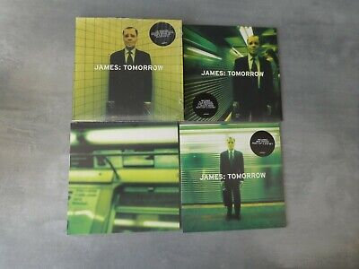 James ‎– Tomorrow 3 parts with slipcase cd single Manchester