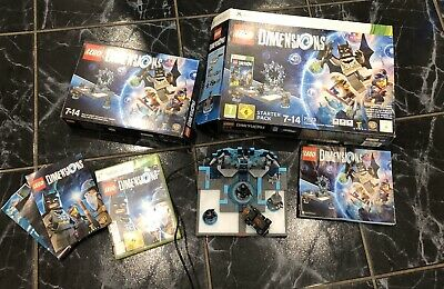 LEGO Dimensions Xbox 360 Starter Pack Complete Boxed Batman Lego Movie