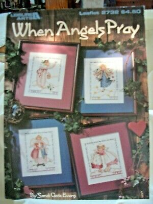 When Angels Pray counted cross stitch chart  used Leisure Arts