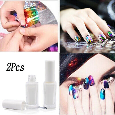 10ml Clear Adhesive Star Glue For Nail Foils Starry Transfer Paper DIY Art Tool