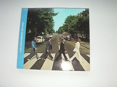 BEATLES ABBEY ROAD 50TH ANNIVERSARY EDITION 2 x CD EXCELLENT CONDITION!