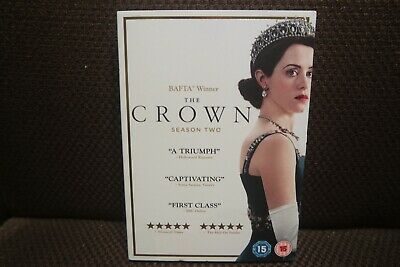 The Crown Season 2 (2018, Widescreen, 4 DVD)