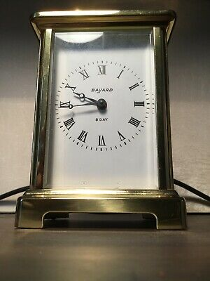 Antique French Carriage Clock BAYARD 8 Day mantle clock sadly not working