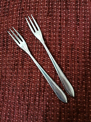 A Pair of Petite EPNS Forks