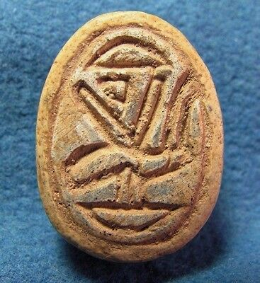 BIG Scarab seal - Hixos JUDAEA Middle bronze Canaanite 2000-1550BC Archaeology