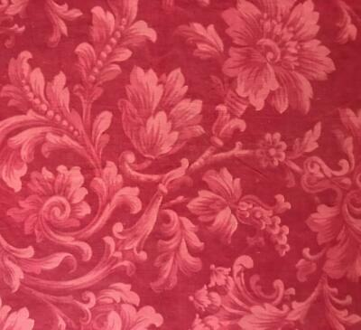 BEAUTIFUL MID 19th CENTURY FRENCH ROCOCO FINE LINEN COTTON 387