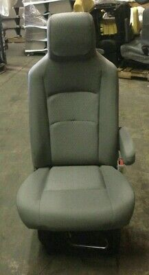 Incredible 08 15 Ford Econoline E 250 E 350 Van Gray Cloth Bucket Seats Machost Co Dining Chair Design Ideas Machostcouk