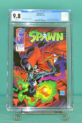 SPAWN #1 CGC 9.8 1st App Al Simmons Todd McFarlane near mint NM HiGh GrAdE COMIC