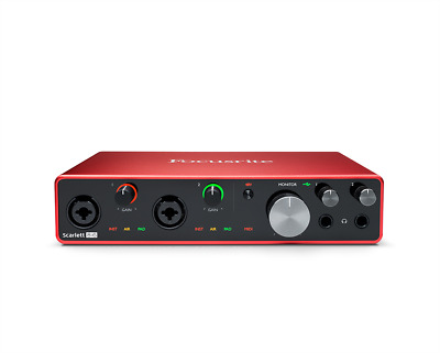 Focusrite SCARLETT 8I6 3rd Gen 192KHz USB Audio Interface w/ Pro Tools First