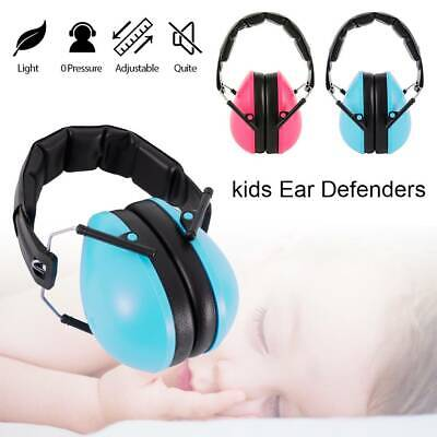 Kids Folding Ear Defenders Autism Noise Reduction Protectors Muffs Child Baby UK