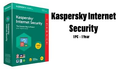 Kaspersky Internet Security 1 Pc, 1 Year, Europe ESD
