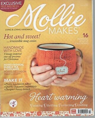 Mollie Makes craft magazine. No 16