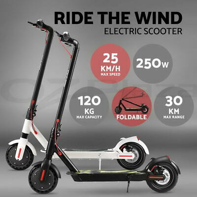 Electric Scooter Portable Foldable Commuter Bike Adult Kids LED Bike Waterpoof