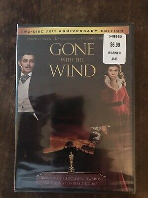 Gone With the Wind [New DVD] Clark Gable Vivien Leigh Brand New Factory Sealed!