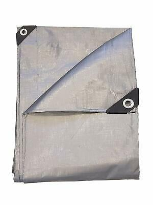 HD Extra Thick (14 Mil) 3-Layer Silver Tarp