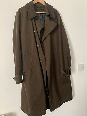 Marks And Spencer M&S Men Brown Size XL LUXURY COLLECTION COAT RAIN MAC RRP £130