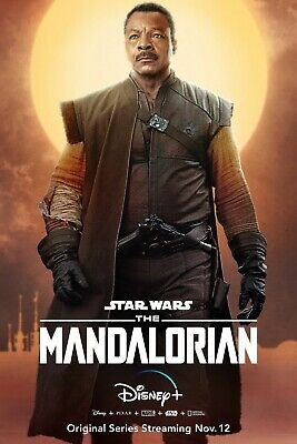 Star Wars The Mandalorian poster (h)  -  11 x 17 inches - Star Wars poster