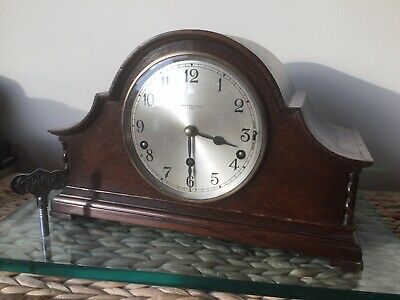 Early 1930's Garrard 'Lyceum' Westminster Chiming Mantle Clock, Fully Serviced