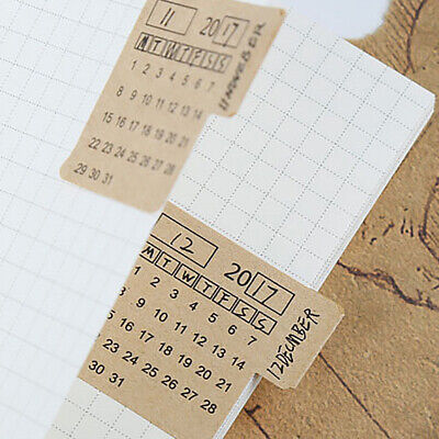 Bullet journal #1011 Month at a glance leaves two page journal calendar