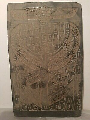 Rare Antique Ancient Egyptian Stela Goddess Isis Good Health Medicine1820-1740BC