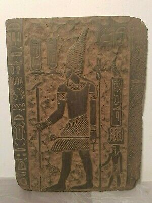 Rare Antique Ancient Egyptian Stela King Narmer 1St Dynasty unify Egy3150-3100BC