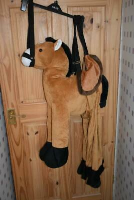 HORSE or PONY FANCY DRESS PLAY COSTUME - CHILDRENS 5-8 YEARS